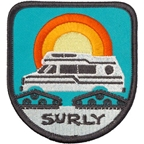 Surly Super Sunburst Patch