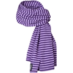 Surly Merino Wool Scarf Zebracorn Purple One Size