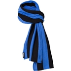 Surly Merino Wool Scarf Black Eye Blue One Size