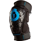 SixSixOne Youth Rage Knee Pad: Black~ One Size (youth)