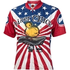 World Jerseys Women's U.S. Biker Chick Cycling Jersey