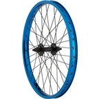 "R12 Wizard Front Wheel 20"" 3/8"" Axle 36h Blue"