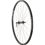 Quality Wheels Front Wheel Mountain Rim Alex 700c 700mm 36h DH19 Black / Shimano Deore Black / DT Industry Silver