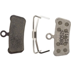 SRAM Guide and Avid Trail Disc Brake Pads Aluminum Backed Organic Compound
