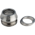 "Odyssey Integrated 1-1/8"" 45x45 Polished Headset with Conical Spacer"