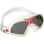 Aqua Sphere Seal XP2 Lady Goggles: White/Coral with Smoke Lens
