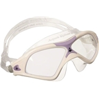 Aqua Sphere Seal XP2 Lady Goggles: White/Lavender with Clear Lens