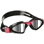 Aqua Sphere Kayenne Lady Goggles: Black/Pink with Mirror Lens