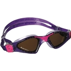 Aqua Sphere Kayenne Lady Goggles: Violet/Pink with Polarized Lens