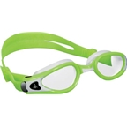 Aqua Sphere Kaiman EXO SF Goggles: Lime/White with Clear Lens