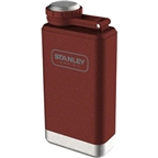 Stanley Stainless Steel Flask: Hammertone Crimson, 5oz