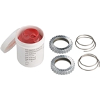 DT Swiss 36t Star Ratchet Kit: 2 star ratchets, 2 springs and grease