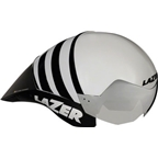 Lazer Wasp Helmet with Autofit: White/Black SM
