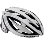 Lazer Genesis Lifebeam Helmet with Heart Rate Monitor: White LG