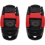 Sidi Shoe Replacement Caliper Buckle: Red/Black