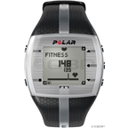 Polar FT7M Heart Rate Monitor: Men's, Black and Silver