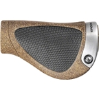 Ergon GP1-S BioKork Gripshift: Small Black/Tan
