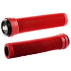 ODI Longneck Soft Compound Flangeless Grips Fire Red