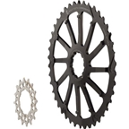 Wolf Tooth Components GC 42T Cog and 16T Cog Bundle: For SRAM 11-36 10-speed cassettes, Black
