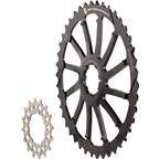 Wolf Tooth Components GC 42T Cog and 16T Cog Bundle: For Shimano 11-36 10-speed cassettes, Black
