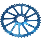 Wolf Tooth Components 42T GC cog for SRAM 11-36 10-speed Cassettes, Blue