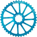 Wolf Tooth Components 42T GC cog for Shimano 11-36 10-speed Cassettes, Blue