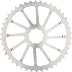 Wolf Tooth Components 42T GC cog for Shimano 11-36 10-speed Cassettes, Silver