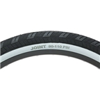 "Stolen Joint High Pressure Tire 24 x 2.2"" Black Tread White Sidewall Steel Bead 110psi"
