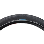 "Schwalbe Fat Frank Tire, 26 x 2.35"" Wire Bead Black with Reflective Sidewalls and KevlarGuard Protection"