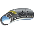 Continental Grand Prix 4000 S Tubular 700 x 22 Black Foldable with Black Chili Rubber