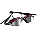 Aqua Sphere K-180 Lady Goggles: Pink/Black with Mirror Lens