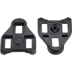 Exustar BLK 1  LOOK Delta Cleats Fixed Black