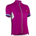 Bellwether Women's Forza Cycling Jersey: Fuchsia