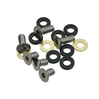 e*thirteen ISCG Bolt kit 10mm/16mm Button Head Bolts and Chain Line Spacers