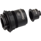 DT Swiss XD Freehub body and end cap for 135mm QR 3-pawl hubs