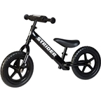 Strider 12 Sport Kids Balance Bike: Black