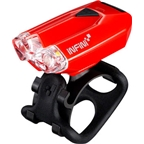 Infini Lava USB Rechargeable Headlight: Red