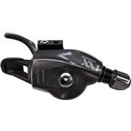 SRAM XX1 Trigger 11-speed Shifter Black Logo with Handlebar Clamp, Cable and Housing