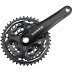 Shimano Altus M311 7/8-Speed 170mm 22/32/42t Octalink Crankset, Black