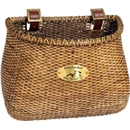 Nantucket Lightship Front Basket,  Classic Shape Stained