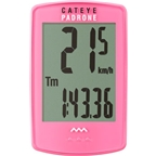 CatEye Padrone Wireless Cycling Computer: Pink