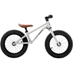 Early Rider Trail Runner XL Fatbike Balance Bike: Silver