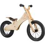 "Early Rider Classic Wooden Balance Bike: 12"" Rear 14"" Front Wood"