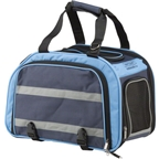 Nantucket Pet Carrier Basket for Rear Rack, Expandable Blue / Navy