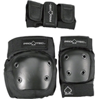 Pro-Tec Youth Street Gear Junior 3-Pack: Black SM