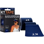 KT Tape Kinesiology Therapeutic Body Tape: Roll of 20 Strips, Navy Blue