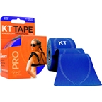 KT Tape Pro Kinesiology Therapeutic Body Tape: Roll of 20 Strips, Sonic Blue