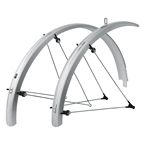 SKS B65 Commuter II Fender Set: Silver 29 x 1.6-2.3