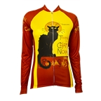 Retro Image Two Chat Noir Women's Jersey Long Sleeve