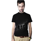 Clockwork Gears Night Riders T-Shirt - Black